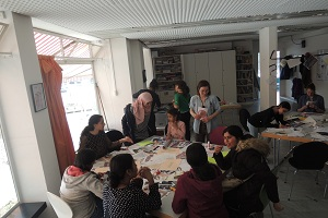 Zine-Workshop im CULTIBO